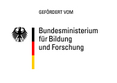 Logo Bundesministerium für Bildung und Forschung/Logo German Federal Ministry of Education and Research
