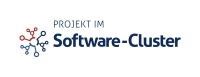 Logo Software-Cluster Partnerprojekt / Logo Software-Cluster Partner project