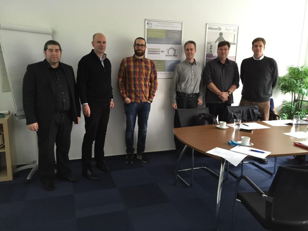 Bild vom Abschlusstreffen des PQ4Agile-Projekts